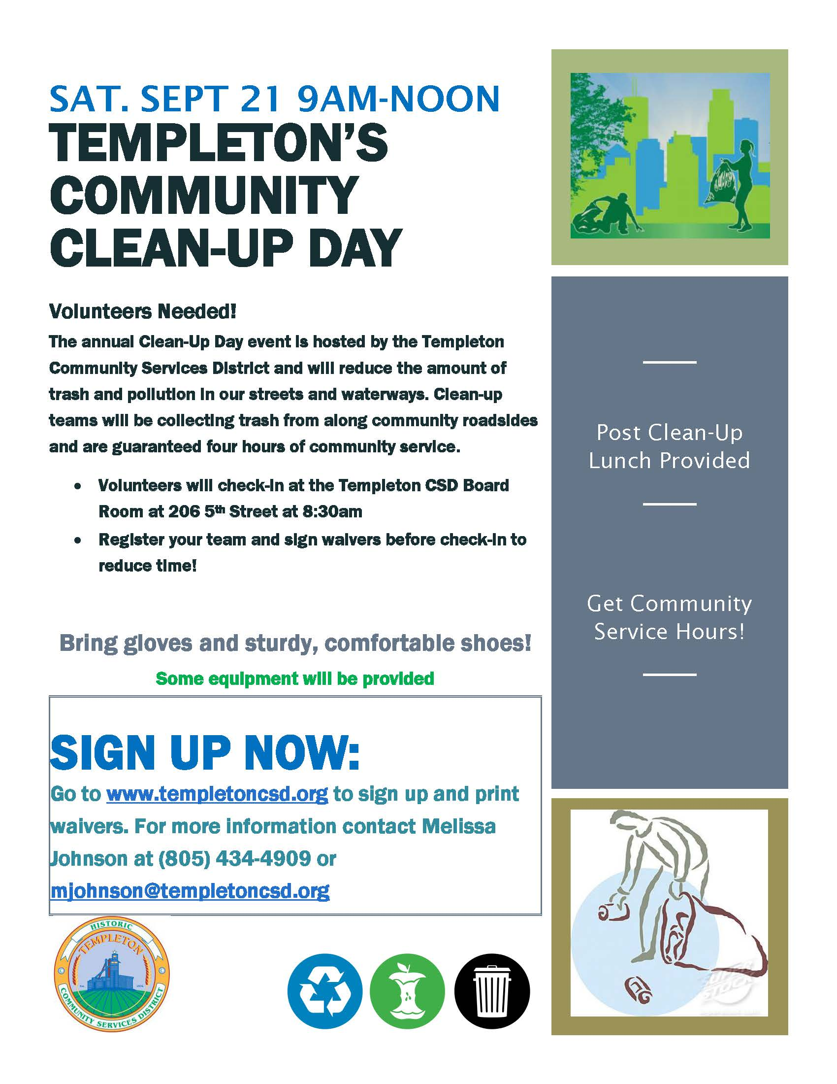 Clean Up Day 2019- FLYER