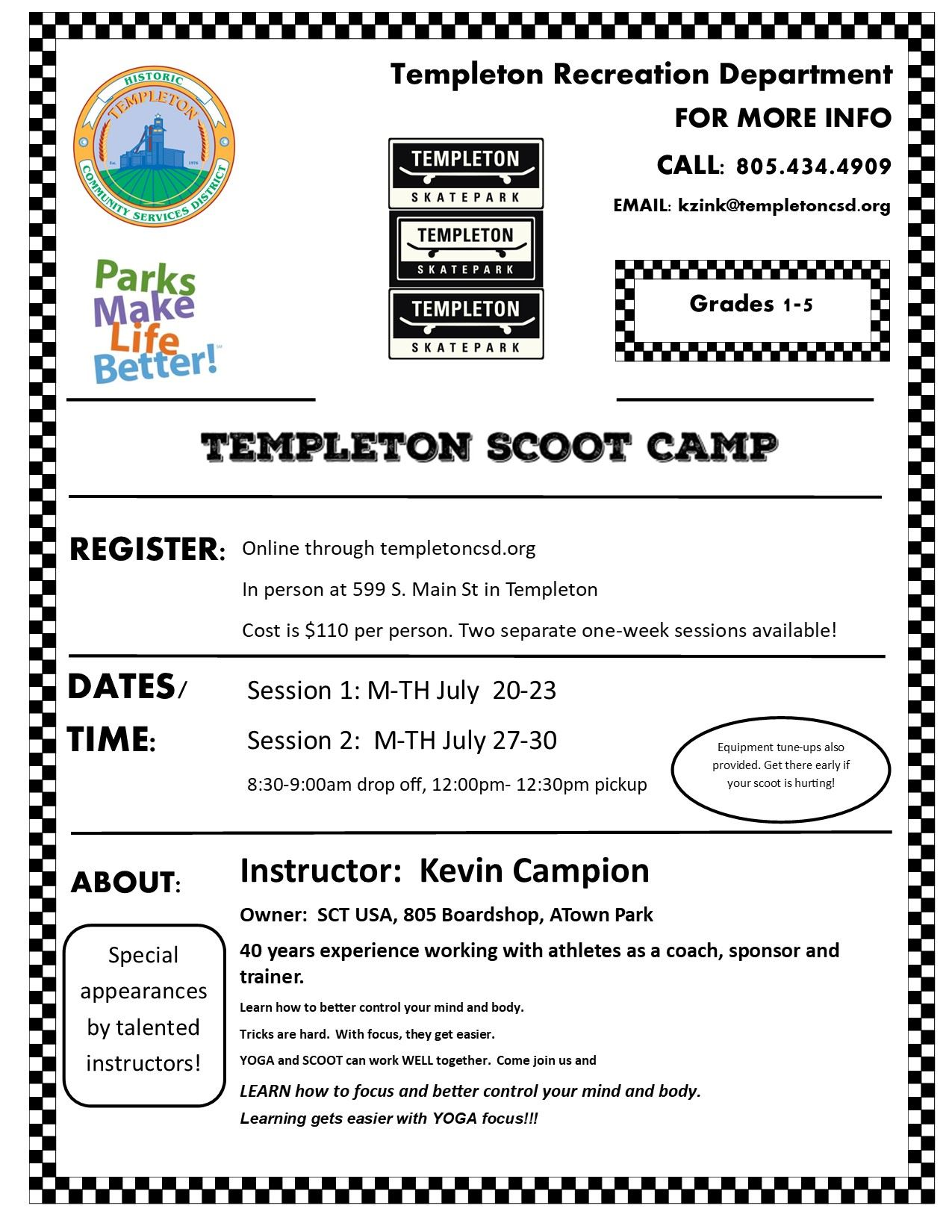 Scoot camp flyer 2020